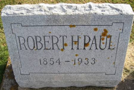 PAUL, ROBERT H. - Washington County, Iowa | ROBERT H. PAUL