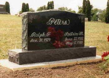 PATTERSON PETERS, LEATRICE MARJEAN - Washington County, Iowa | LEATRICE MARJEAN PATTERSON PETERS