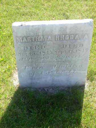RAY, MARTHA A - Washington County, Iowa | MARTHA A RAY