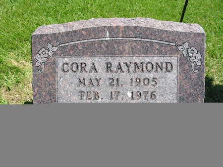 MILLER RAYMOND, CORA - Washington County, Iowa   CORA MILLER RAYMOND