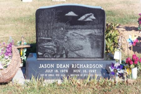 RICHARDSON, JASON D. - Washington County, Iowa | JASON D. RICHARDSON