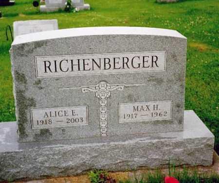 RICHENBERGER, ALICE E. - Washington County, Iowa | ALICE E. RICHENBERGER