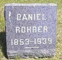 ROHRER, DANIEL - Washington County, Iowa | DANIEL ROHRER