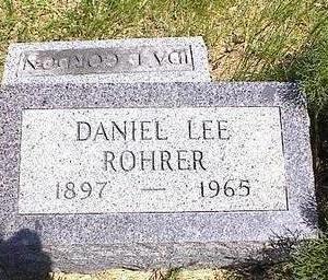 ROHRER, DANIEL LEE - Washington County, Iowa   DANIEL LEE ROHRER