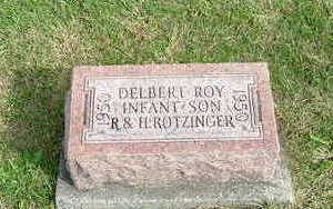 ROTZINGER, DELBERT ROY - Washington County, Iowa | DELBERT ROY ROTZINGER