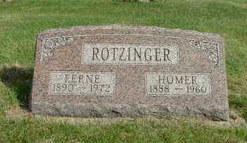 ROTZINGER, FERNE - Washington County, Iowa | FERNE ROTZINGER