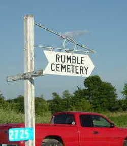 RUMBLE, CEMETERY - Washington County, Iowa | CEMETERY RUMBLE