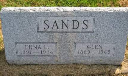 SANDS, GLEN - Washington County, Iowa | GLEN SANDS
