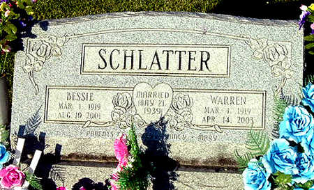 SCHLATTER, WARREN ALLEN - Washington County, Iowa   WARREN ALLEN SCHLATTER