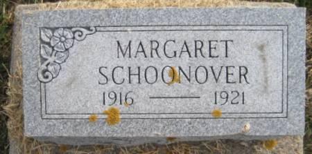 SCHOONOVER, MARGARET - Washington County, Iowa   MARGARET SCHOONOVER