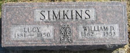 SIMKINS, LUCY - Washington County, Iowa | LUCY SIMKINS