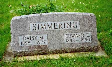 SIMMERING, EDWARD E. - Washington County, Iowa | EDWARD E. SIMMERING