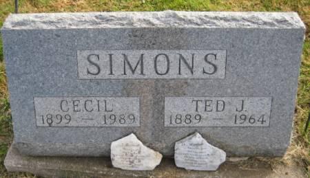 SIMONS, CECIL - Washington County, Iowa | CECIL SIMONS