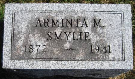 WALLACE SMYLIE, ARMINTA M. - Washington County, Iowa | ARMINTA M. WALLACE SMYLIE
