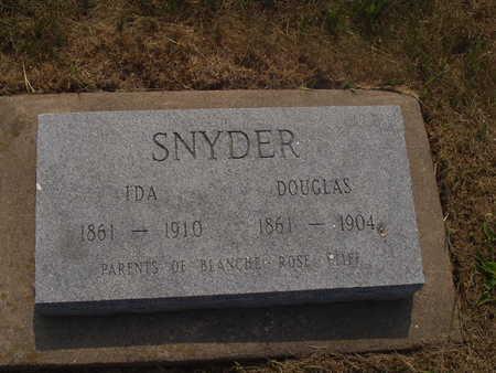 SNYDER, DOUGLAS - Washington County, Iowa | DOUGLAS SNYDER
