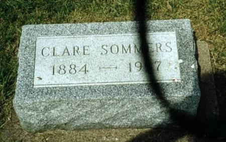 SOMMERS, CLARE SOMMERS - Washington County, Iowa | CLARE SOMMERS SOMMERS