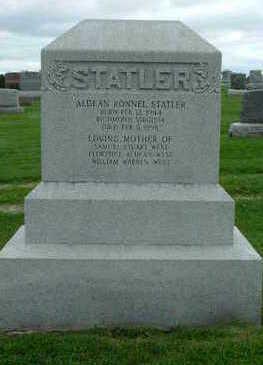 STATLER, ALDEAN RONNEL - Washington County, Iowa   ALDEAN RONNEL STATLER
