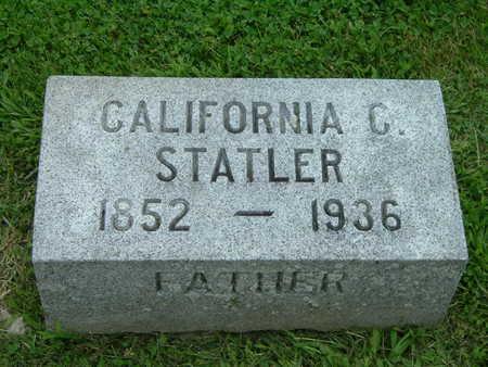 STATLER, CALIFORNIA C. - Washington County, Iowa | CALIFORNIA C. STATLER