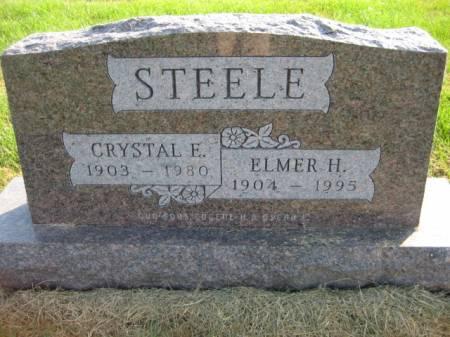 STEELE, CRYSTAL E. - Washington County, Iowa   CRYSTAL E. STEELE