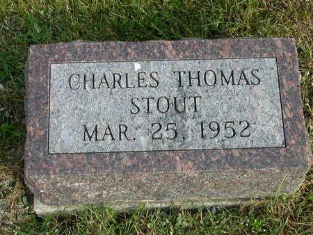 STOUT, CHARLES THOMAS - Washington County, Iowa | CHARLES THOMAS STOUT
