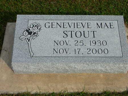 STOUT, GENEVIEVE MAE - Washington County, Iowa | GENEVIEVE MAE STOUT