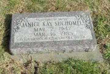 SUCHOMEL, JANICE KAY - Washington County, Iowa | JANICE KAY SUCHOMEL