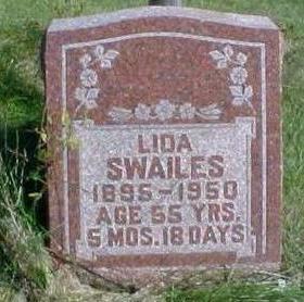 SWAILS, LIDA - Washington County, Iowa | LIDA SWAILS