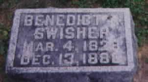 SWISHER, BENEDICT ROBERT - Washington County, Iowa   BENEDICT ROBERT SWISHER