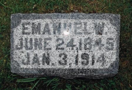 SWISHER, EMANUEL W. - Washington County, Iowa   EMANUEL W. SWISHER