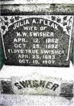 SWISHER, JULIA A. - Washington County, Iowa | JULIA A. SWISHER