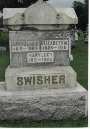 SWISHER, ELIZABETH M. - Washington County, Iowa | ELIZABETH M. SWISHER
