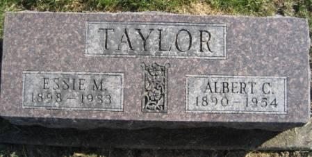TAYLOR, ALBERT C. - Washington County, Iowa   ALBERT C. TAYLOR