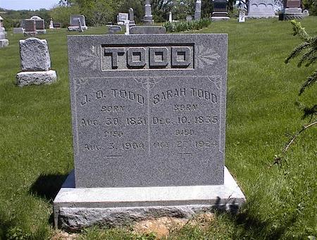 TODD, SARAH - Washington County, Iowa | SARAH TODD