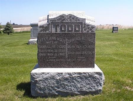 TODD, SAMUEL H. - Washington County, Iowa | SAMUEL H. TODD