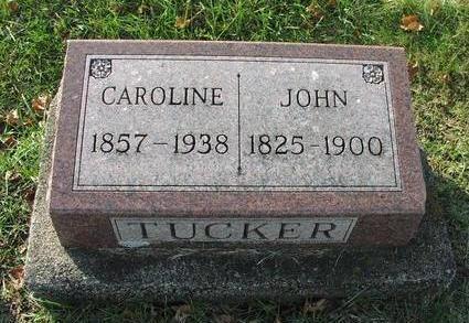 TUCKER, CAROLINE - Washington County, Iowa | CAROLINE TUCKER