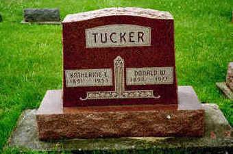 SNIDER TUCKER, KATHARINE E. - Washington County, Iowa | KATHARINE E. SNIDER TUCKER