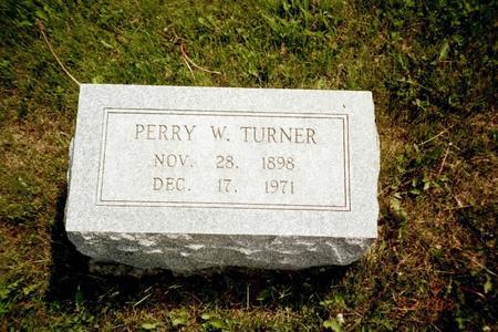 TURNER, PERRY - Washington County, Iowa | PERRY TURNER