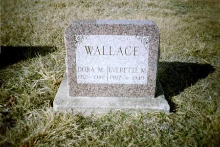 WALLACE, EVERETTE M. - Washington County, Iowa | EVERETTE M. WALLACE