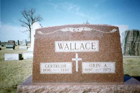 WALLACE, GERTRUDE - Washington County, Iowa | GERTRUDE WALLACE