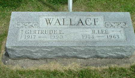 COWAN, GERTRUDE M. E. (WALLACE) - Washington County, Iowa | GERTRUDE M. E. (WALLACE) COWAN