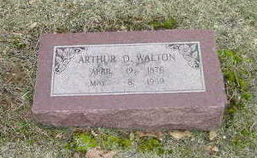 WALTON, ARTHUR O. - Washington County, Iowa | ARTHUR O. WALTON