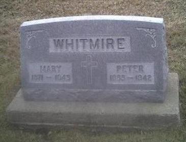 WHITMIRE, MARY - Washington County, Iowa | MARY WHITMIRE