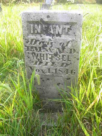 WHITSEL, INFANT - Washington County, Iowa | INFANT WHITSEL