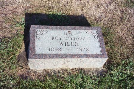 WILES, ROY L.