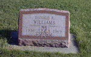 WILLIAMS, DONALD - Washington County, Iowa | DONALD WILLIAMS