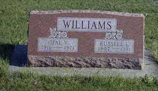 MCGUIRE WILLIAMS, OPAL V. - Washington County, Iowa | OPAL V. MCGUIRE WILLIAMS