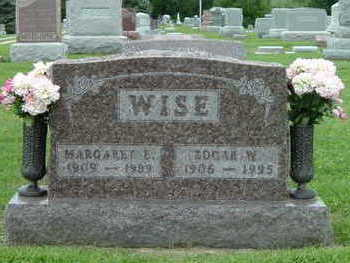 WISE, MARGARET E. - Washington County, Iowa | MARGARET E. WISE