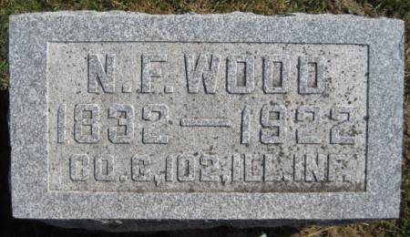 WOOD, N.F. - Washington County, Iowa   N.F. WOOD