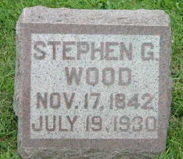 WOOD, STEPHEN G. - Washington County, Iowa | STEPHEN G. WOOD