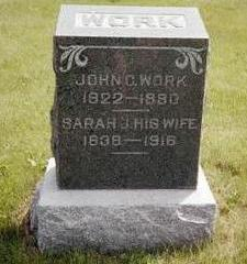 WORK, JOHN C. - Washington County, Iowa | JOHN C. WORK